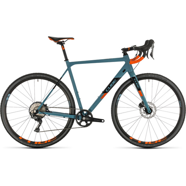 Cube Cross Race Sl Bluegrey/Orange 2020