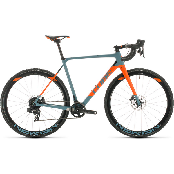 Cube Cross Race C:62 Slt Bluegrey/Orange 2020