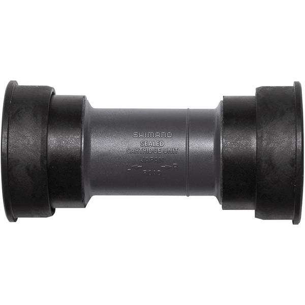 Road press fit bottom bracket with inner cover, for 86.5 mm