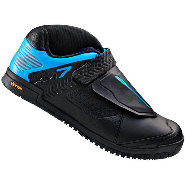 AM7 flat sole shoes, black / blue