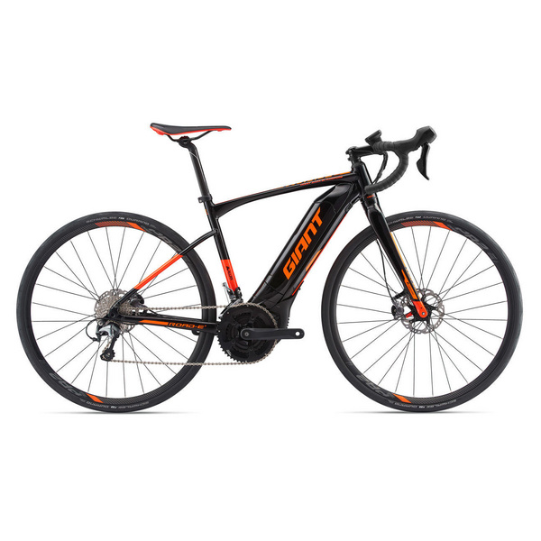 Road-E+2 Pro M Black/Red/Orange