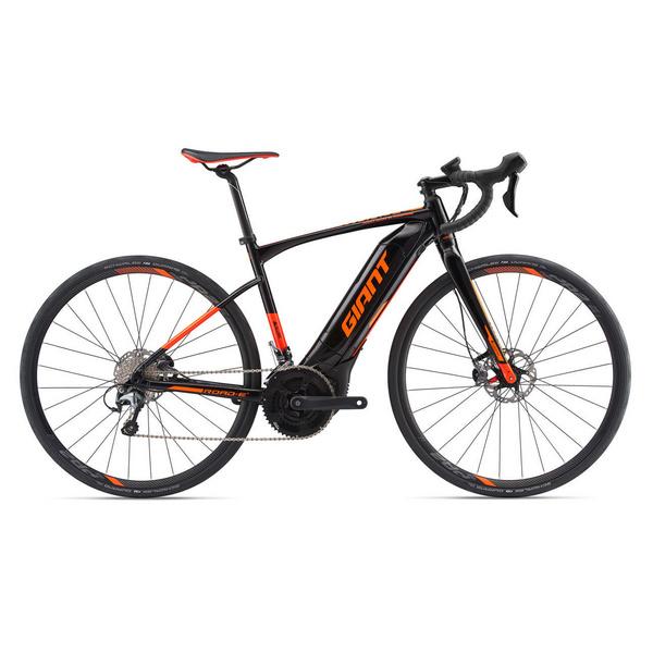 Road-E+2 Pro 25km/h L Black/Red/Orange