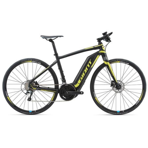 FastRoad E+ 25km/h M Black/Neon Yellow