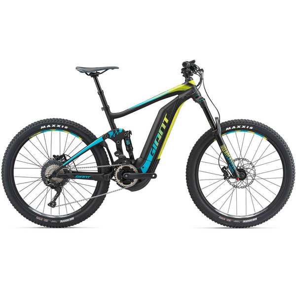 Full-E+ 1 SX Pro M Black/Teal/Yellow