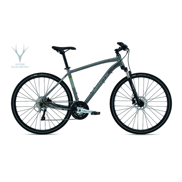 WHYTE Caledonian SMALL Matt Zinc with Lime/Grey