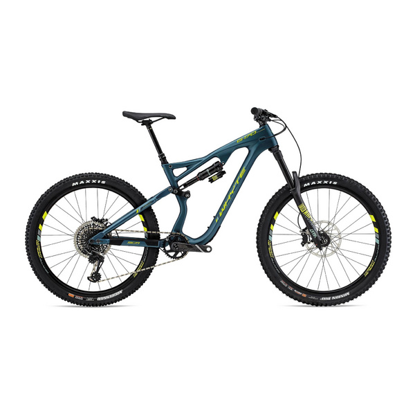 WHYTE G-170C WORKS SMALL Matt Petrol with Lime/Mist/Grey