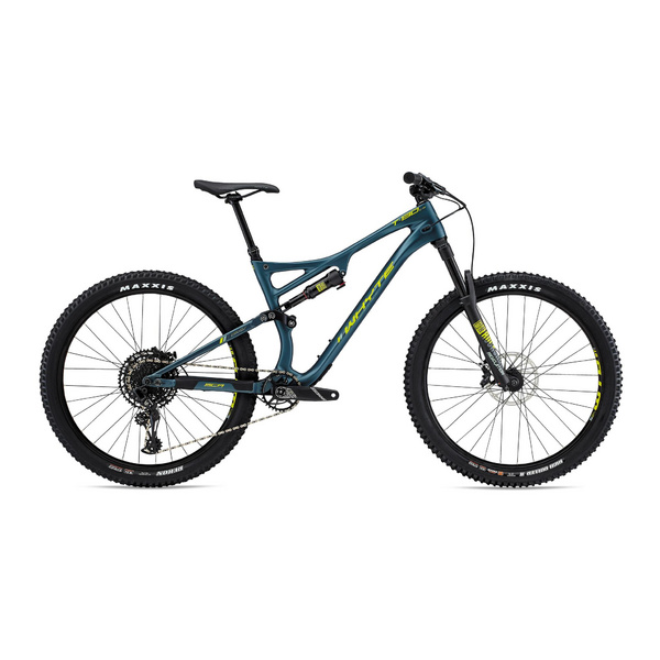 WHYTE T-130C R SMALL Matt Petrol with Lime/Mist/Grey