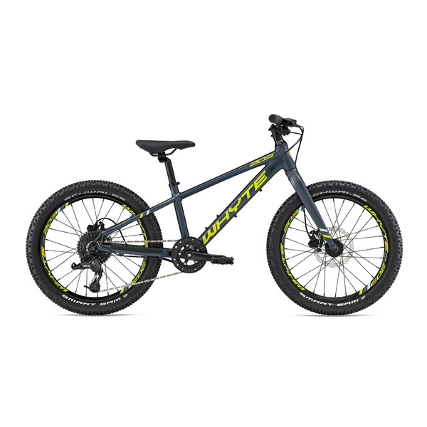 """WHYTE 203 11"""" Matt Midnight with Lime/Sky"""