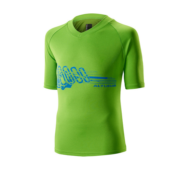 Altura Children'S Spark Bamboo Tee Green Age 5 - 6