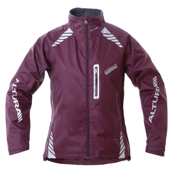 Altura Women'S Night Vision Jacket Aubergine 10