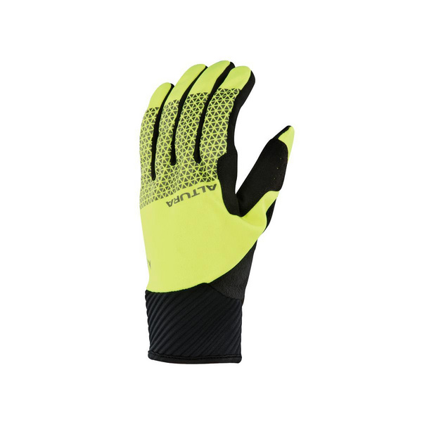 ALTURA NIGHTVISION 4 WINDPROOF GLOVE 2018: HI-VIZ YELLOW/BLACK M