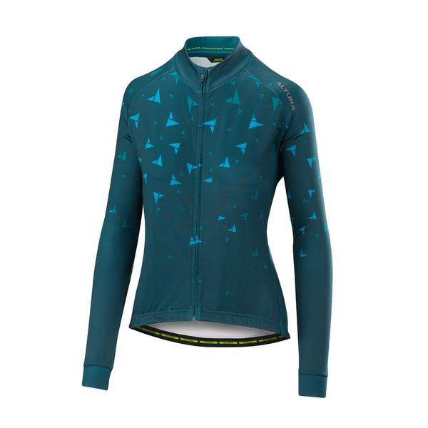 ALTURA WOMENS THERMO FLOCK LONG SLEEVE JERSEY