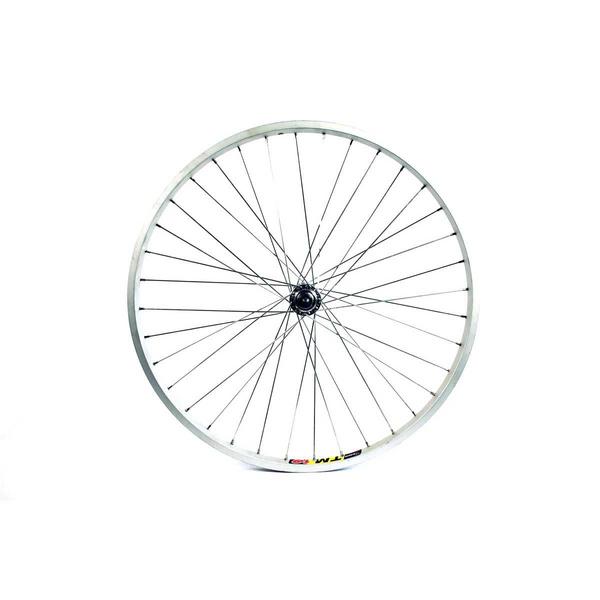 Wilkinson Wheels 24X1.75 Front Wheel Mtb Solid Axle Alloy Hub,Silve
