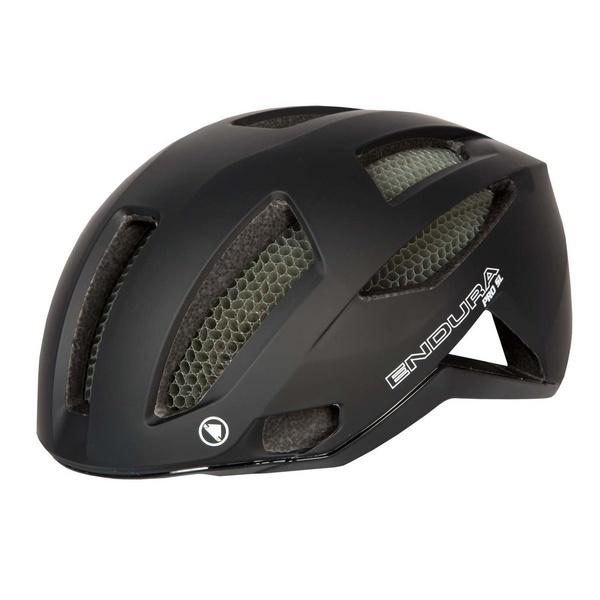 Endura Endura Pro SL Helmet: HiVizBlue - M-L