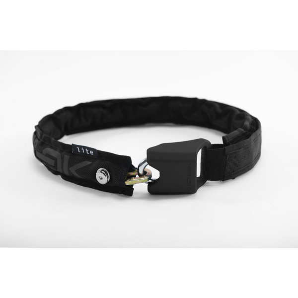 Hiplok LITE Wearable Chain Lock 6mm x 75cm - waist 24-44 inches (Bronze Sold Secure) Black