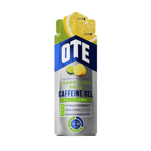 Ote Caffeine Energy Gel (50Mg) 20 X 56G