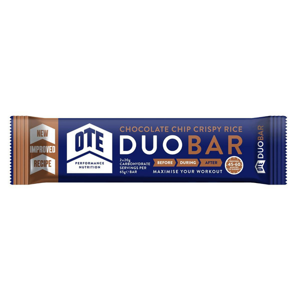 Ote Duo Energy Bar 12X 65G