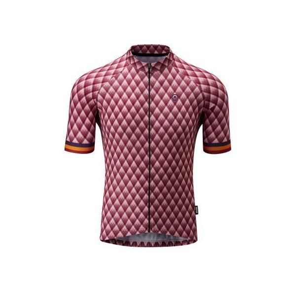 Chapeau! Mens Club Jersey Pattern  Cherry XXL