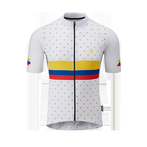 Chapeau! Mens Club Jersey LTD Nick Loves Colombia  White XXL