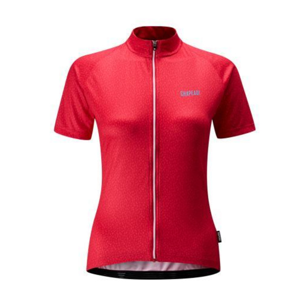 Chapeau! Ladies Soulor Pattern Jersey  Red Rose XS