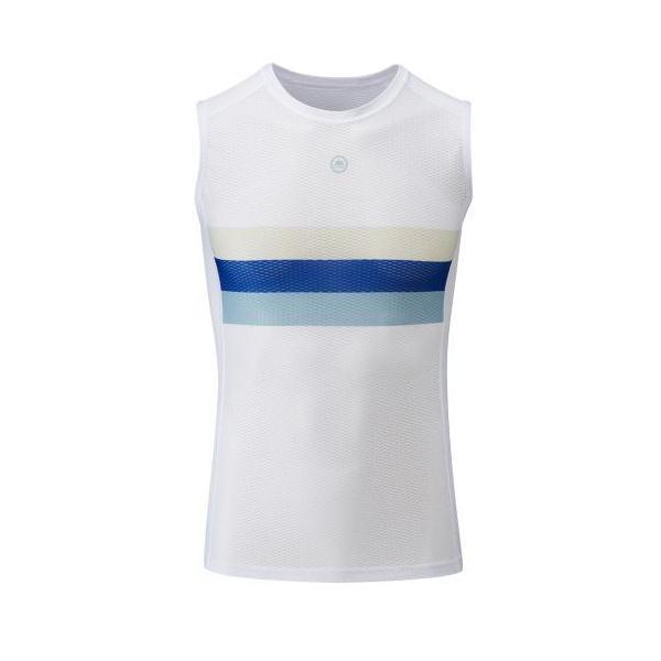 Chapeau! Mens Mesh SL Base Layer Striped  Exe Blue XL