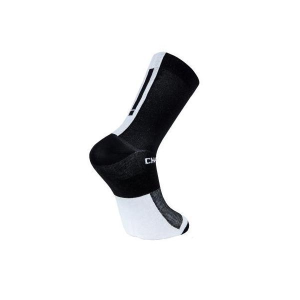 Chapeau! Lightweight Performance Socks The Marque Tall Black/White 44-47
