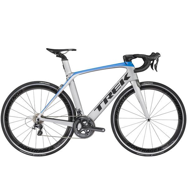 Trek Madone 9.2 - Silver;blue;black
