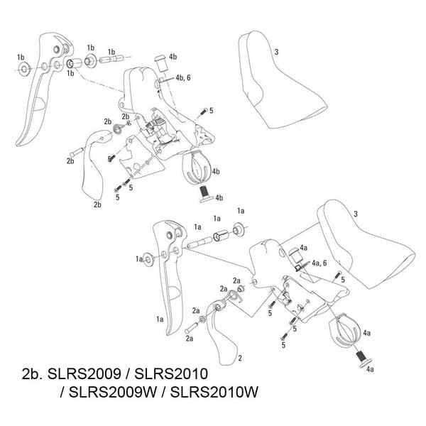 SRAM Shift Lever Assy Kit Apex/Rival 09-11 Right