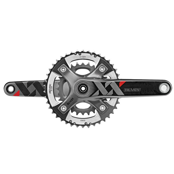 Truvativ SRAM XX Chainset - GXP - 2x10 - Q-factor 166 - 175mm - 42-28t - (Excludes BB)