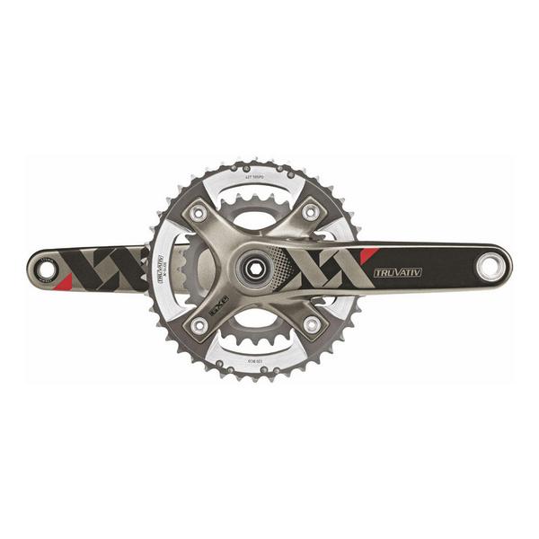 Truvativ SRAM XX Chainset -BB30 - 2x10 - Q-factor 164 - 175mm - 39-26 (Excludes BB)