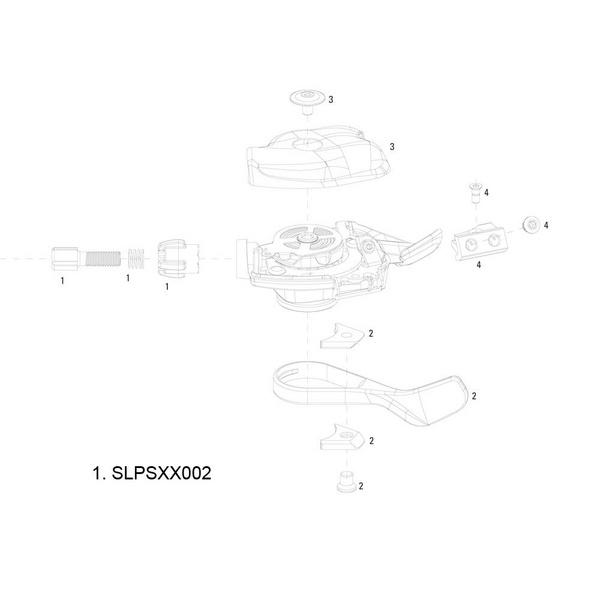 SRAM Barrel Adjuster Kit for XX Trigger