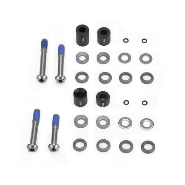 Avid Post Spacer Set - 10 S (Front 170) Inc. Stainless Caliper Mounting Bolts (Cps & Standard)