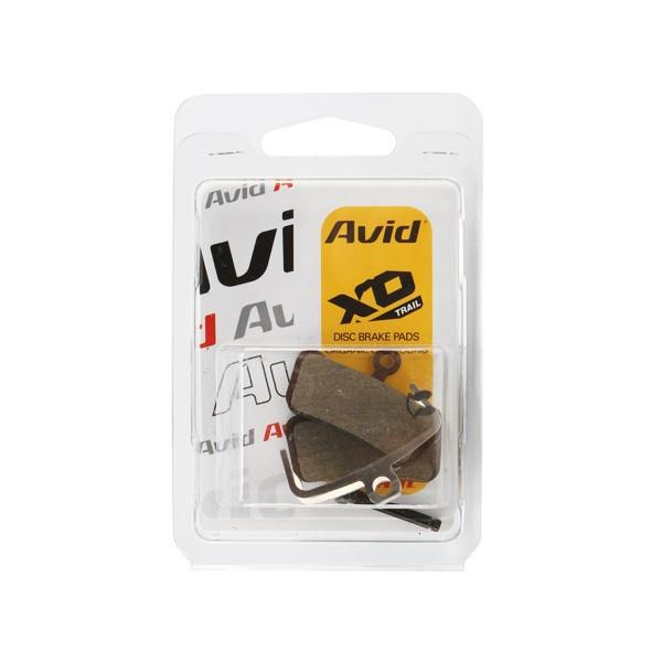 SRAM Guide/ Avid Trail Disc Brake Pads Organic/Steel,  (1 set)