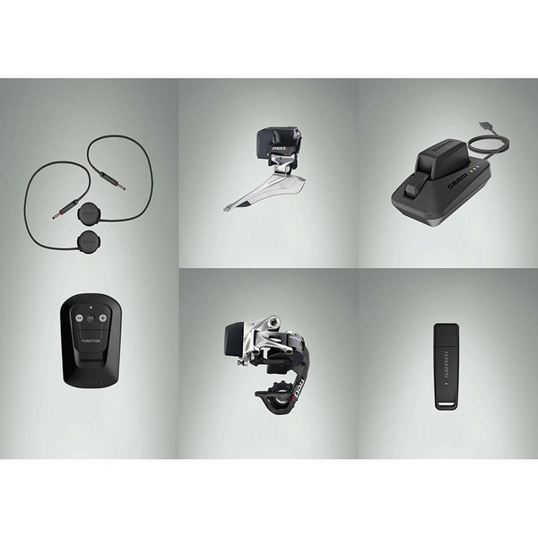 Sram Red Etap Wifli Upgrade Kit (Rear Derailleur And Battery, Xg-1190 11-32 Cassette, Pc Red22 Chain)