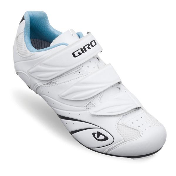 Giro Sante Women'S Road Cycling Shoes White/Black/Blue 36