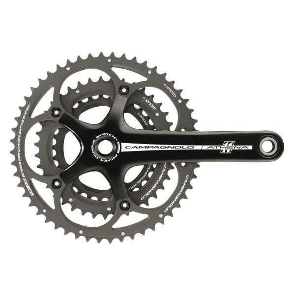 Campagnolo Athena 11x Triple P-T Black Chainsets