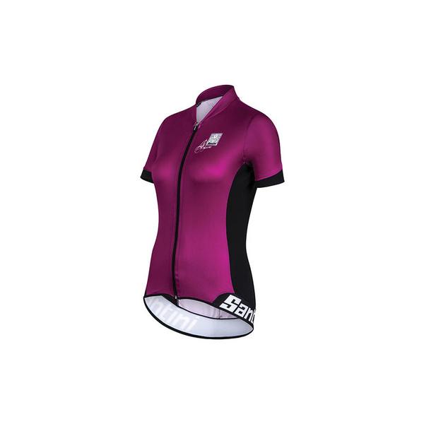FS95475GOLD - Santini Gold Womens Aero Short Sleeve Jersey