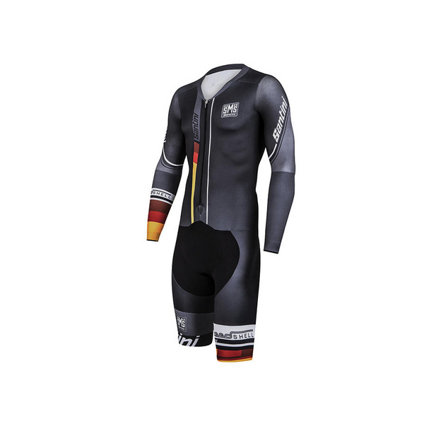 SANTINI SPEED SHELL ROAD SPEED SUIT NAT PAD