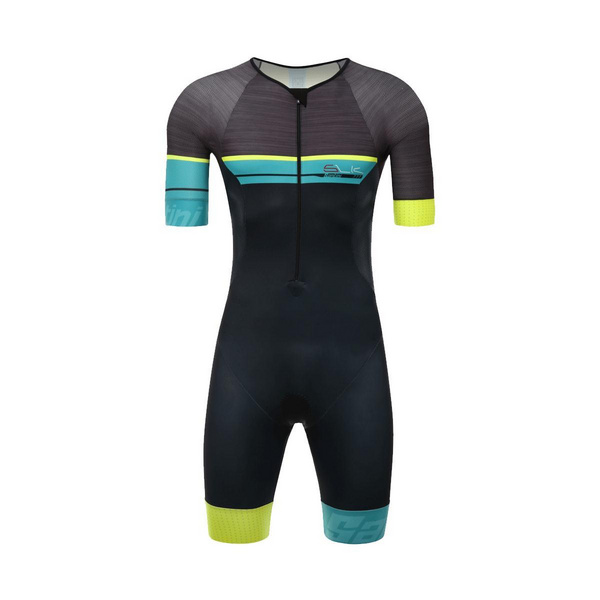 SANTINI SLEEK 777 SHORT SLEEVE TRISUIT GTR PAD