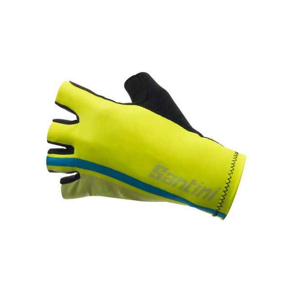 SANTINI REDUX HIGH CUFF RACE MITT 2018: BLUE L