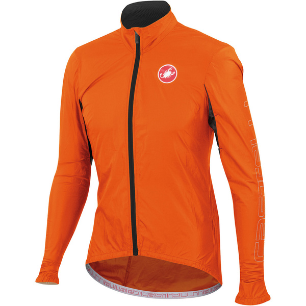 Castelli Velo Jacket - Orange Fluo