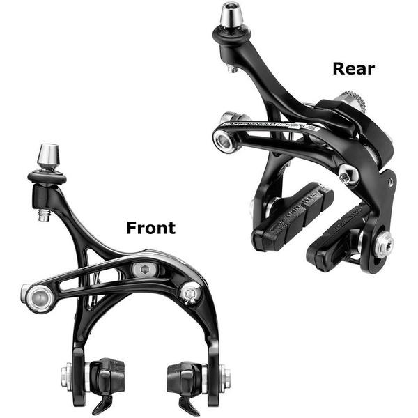 Campagnolo Brakeset Skeleton Dual Pivot Front And Rear Black
