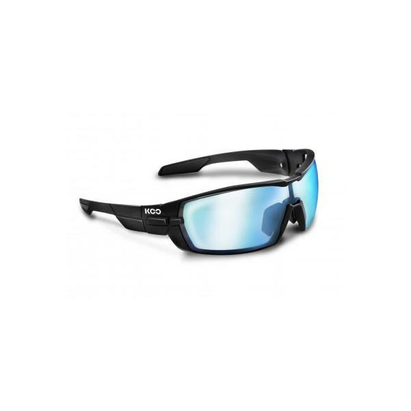 Koo Open Smoke Mirror Lenses Black Small
