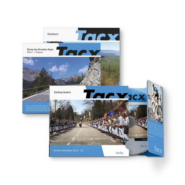 Tacx Films (RLV)  Cycletours Citytrip Pacific Coast Highway - USA