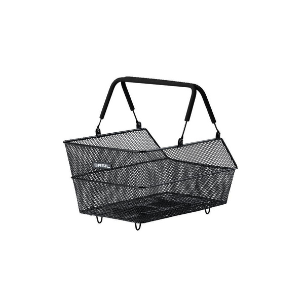 BASIL CENTO REAR BASKET MIK BLACK