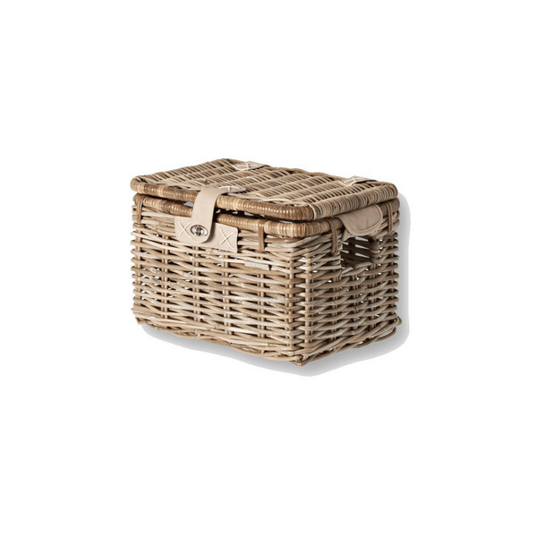 BASIL DENTON RATTAN FRONT STORAGE BOX