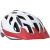 Cyclone Helmet - White/red