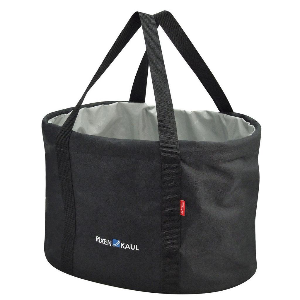 RIXEN-KAUL SHOPPER PRO BLACK HANDLEBAR BAG