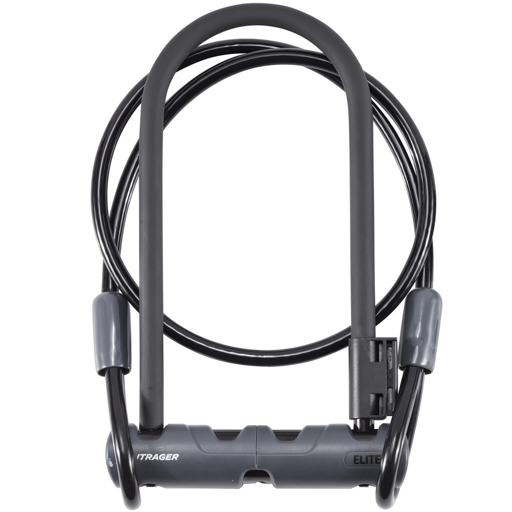 Bontrager Elite Keyed U-Lock with Cable