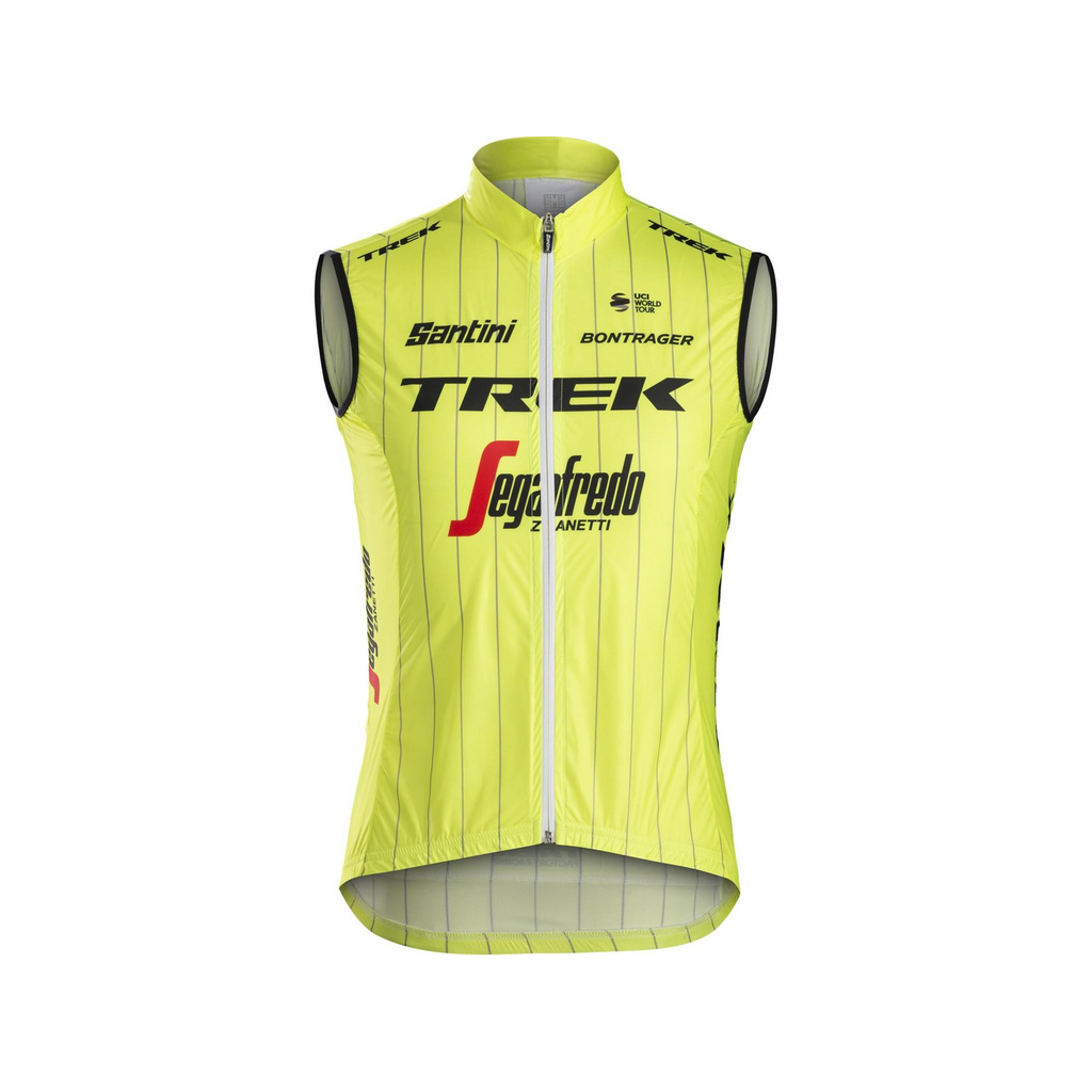Santini Trek-Segafredo Men's Team Windshell Cycling Vest